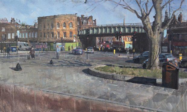 Herne Hill Benjamin Hope Oil on canvas,76 x 46 cm, 2017