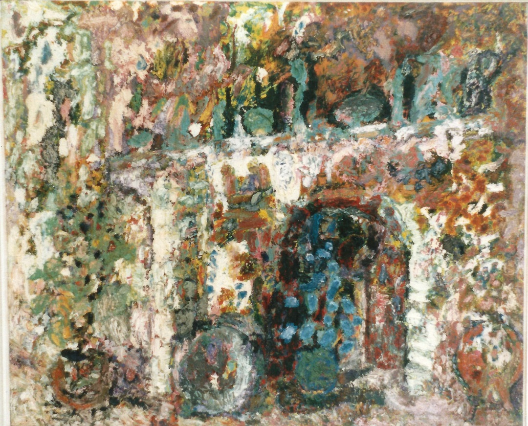 'Mantelpiece' Anna Hansford Oil on canvas, 90 x 114 cm