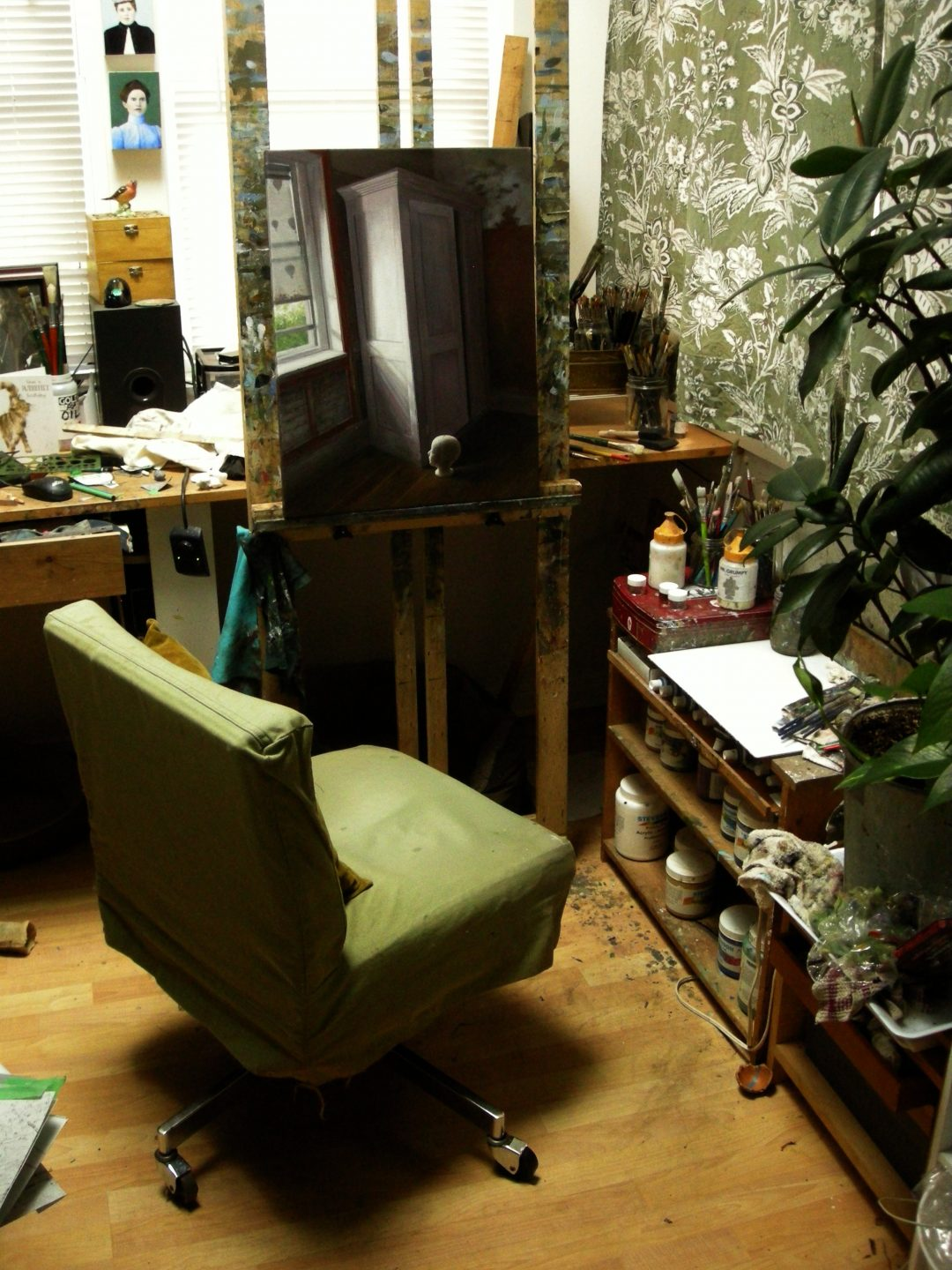 Leslie Watts' Studio