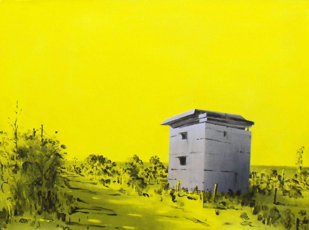 Yellow Lookout Graham Crowley Oil on canvas, 61cm x 81cm, 2016