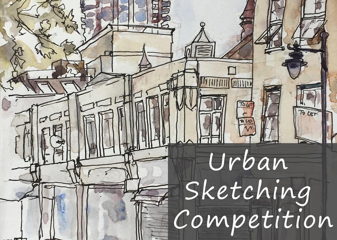 Urban sketching competition jacksons art blog
