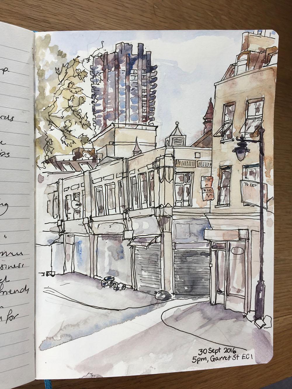 Sketchbooks for Urban Sketching
