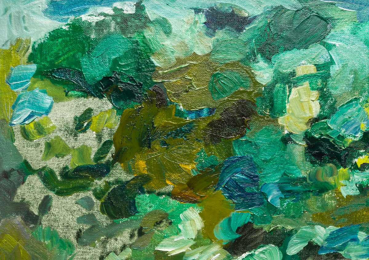 Mixing Greens in Oil Colour - Jackson\'s Art Blog