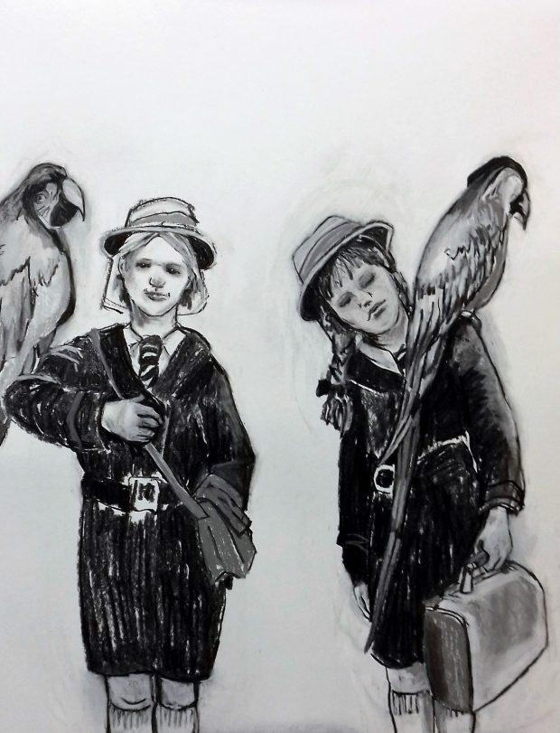 Pauline Evans Parrots