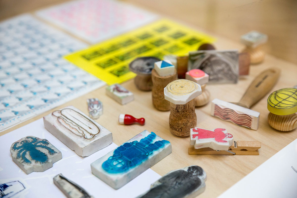Stephen Fowler rubber stamps