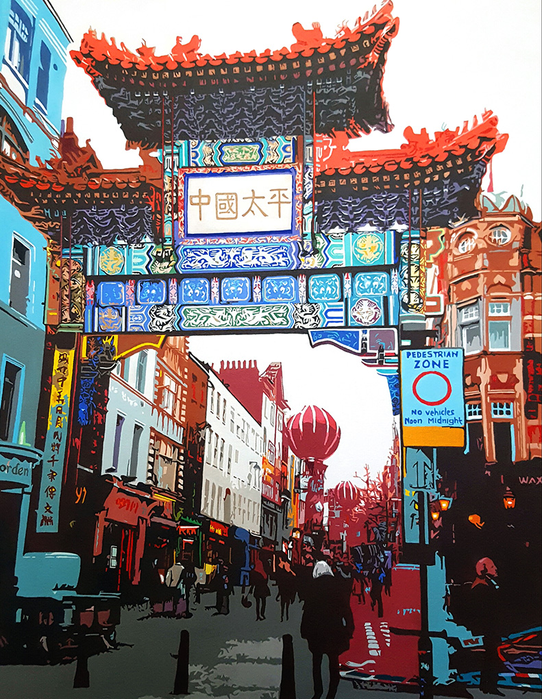 Chinatown Gate London - Deric Ch'ng