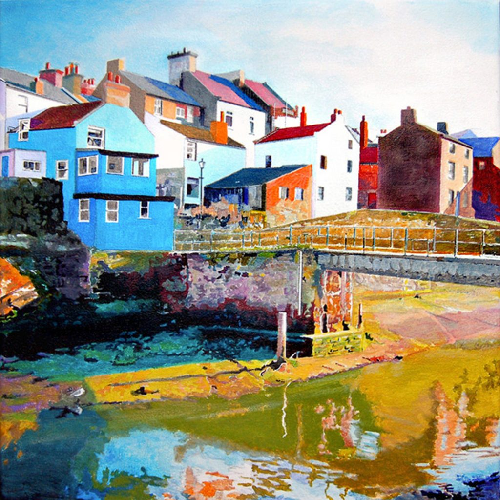 Staithes Footbridge - Arwyn Quick