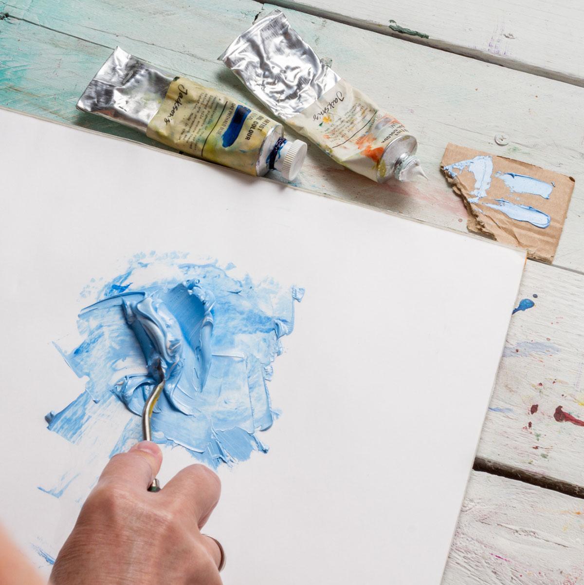 Empty Oil Paint Tubes