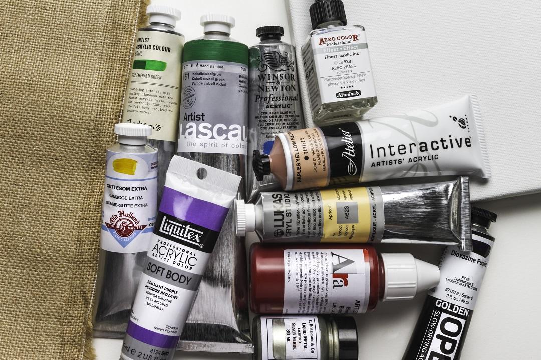 Acrylic Paint Guide - Jackson's Art Blog