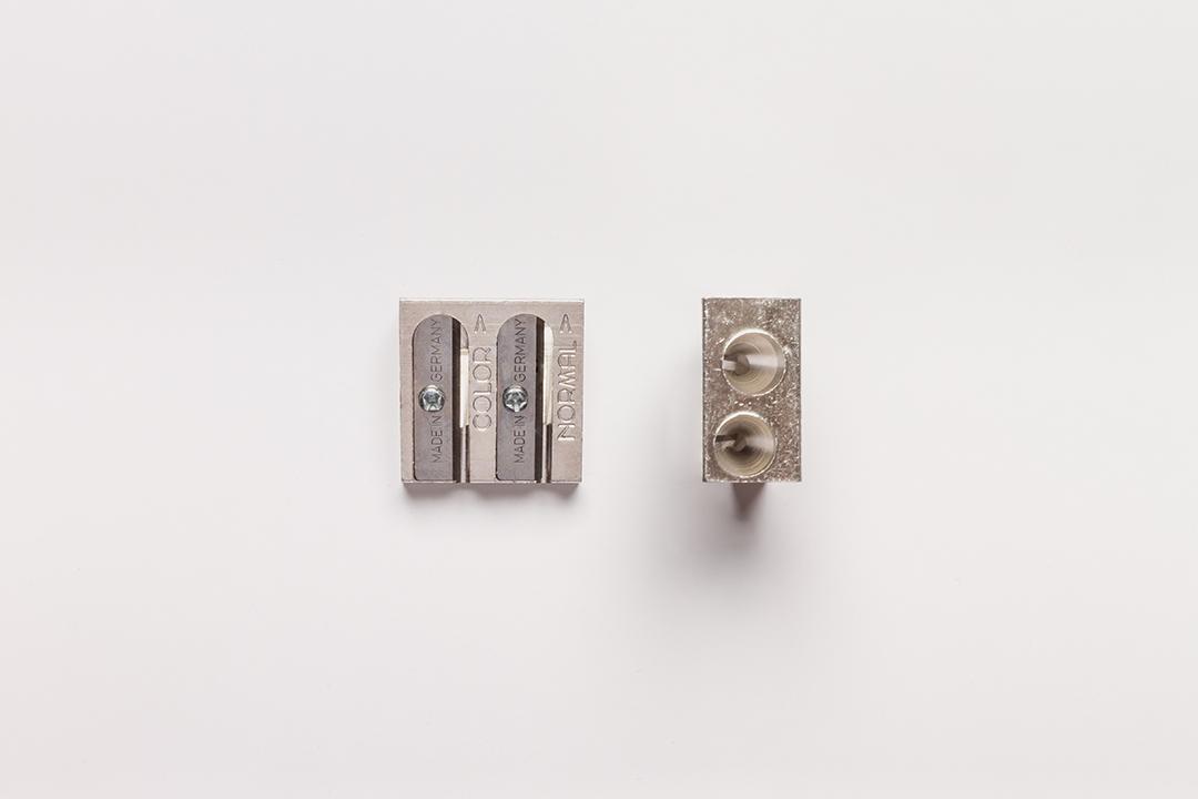 Pencil Sharpener Metal Jumbo Long Tip Crayon KOH-I-NOOR