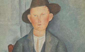 The Little Peasant c.1918, Amedeo Modigliani 1884-1920 Presented by Miss Jenny Blaker in memory of Hugh Blaker 1941
