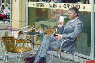 'Waiting' Jeanne Warren Acrylic on Board, 33cm x 56cm, 2012