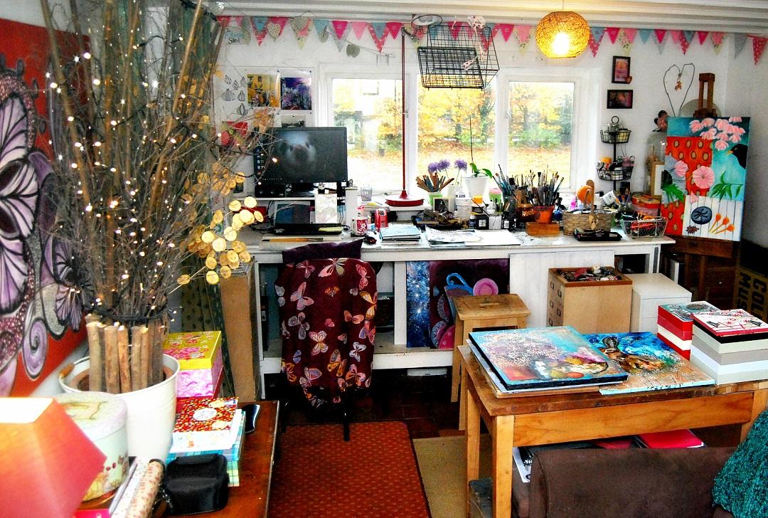 Andrea Clement's Studio