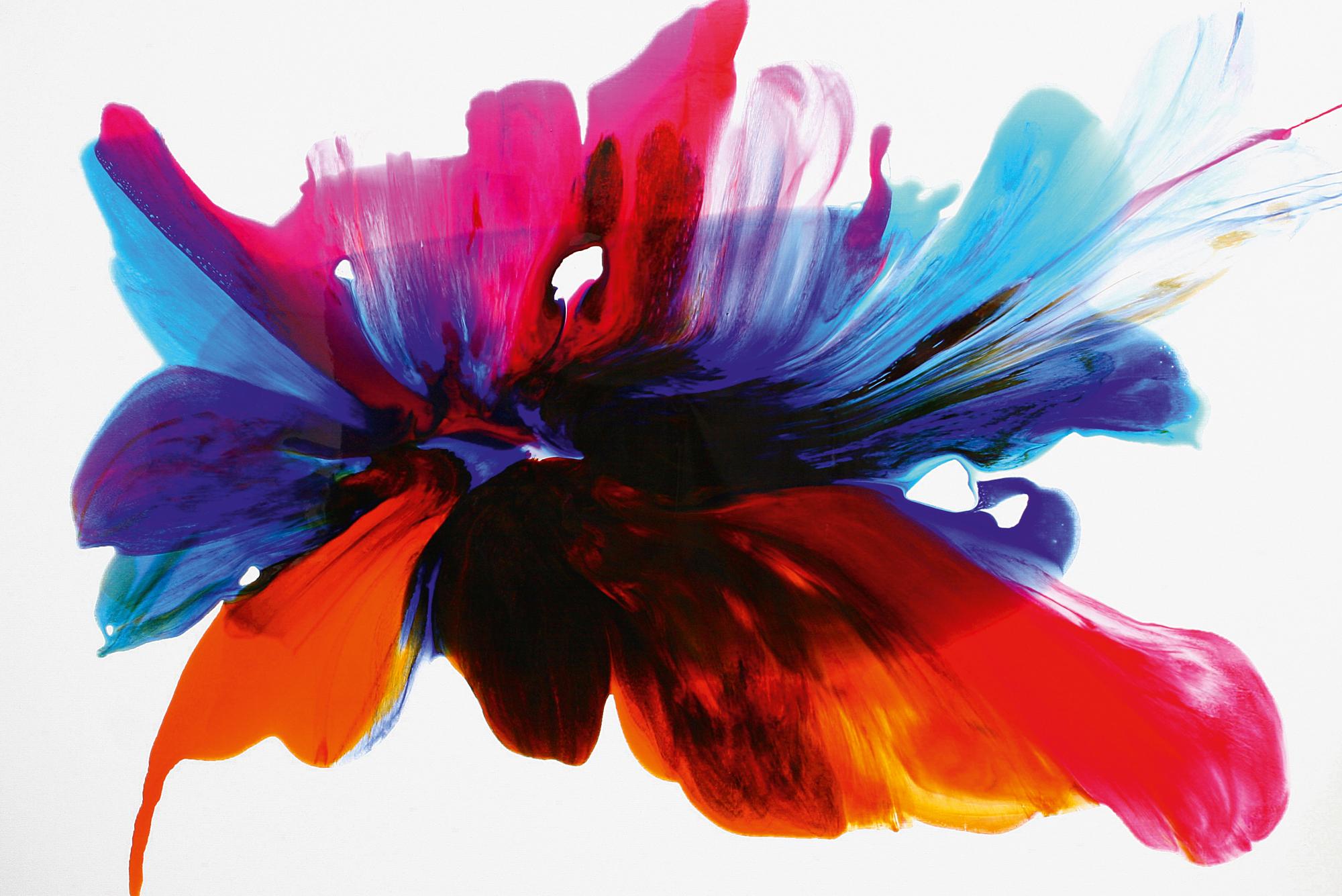 'Bee Bait' Orlanda Broom Resin on canvas, 100cm x 180cm, 2016