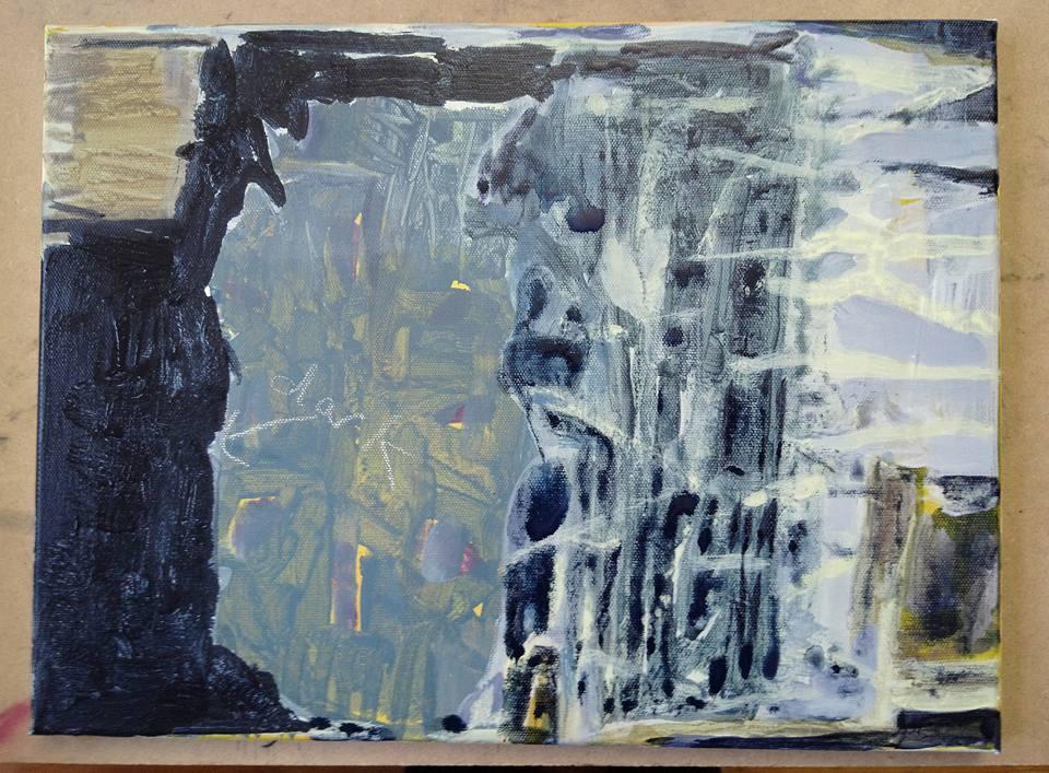Fiona Moate, Acrylic on Canvas