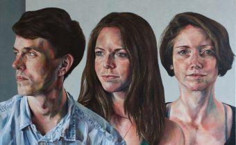 'Cornerstones', Shirt detail, Alexandra Gould