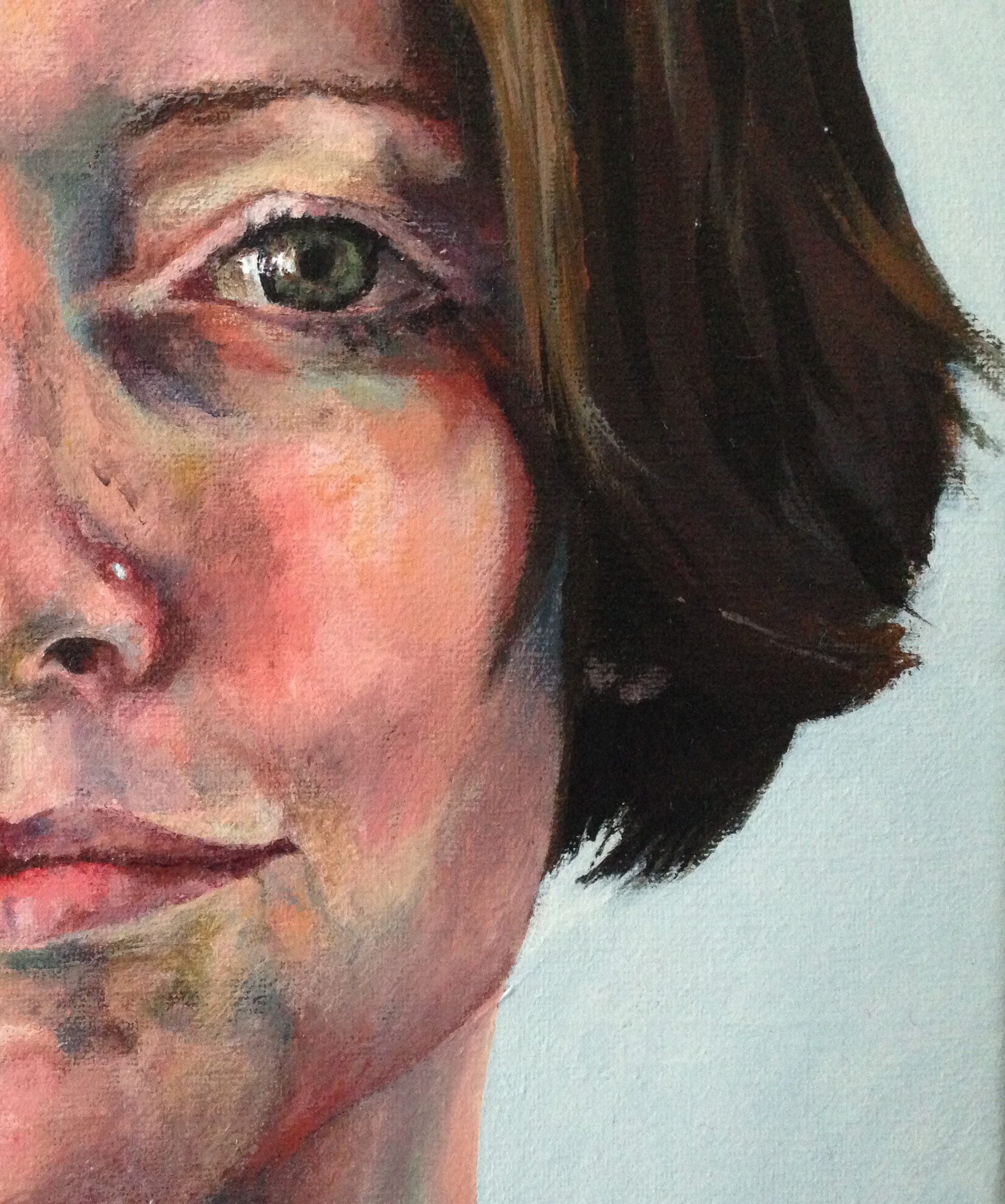Commission: 'Cornerstones', detail of Lucy, Alexandra Gould