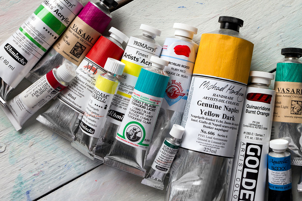 Selected High Series paints