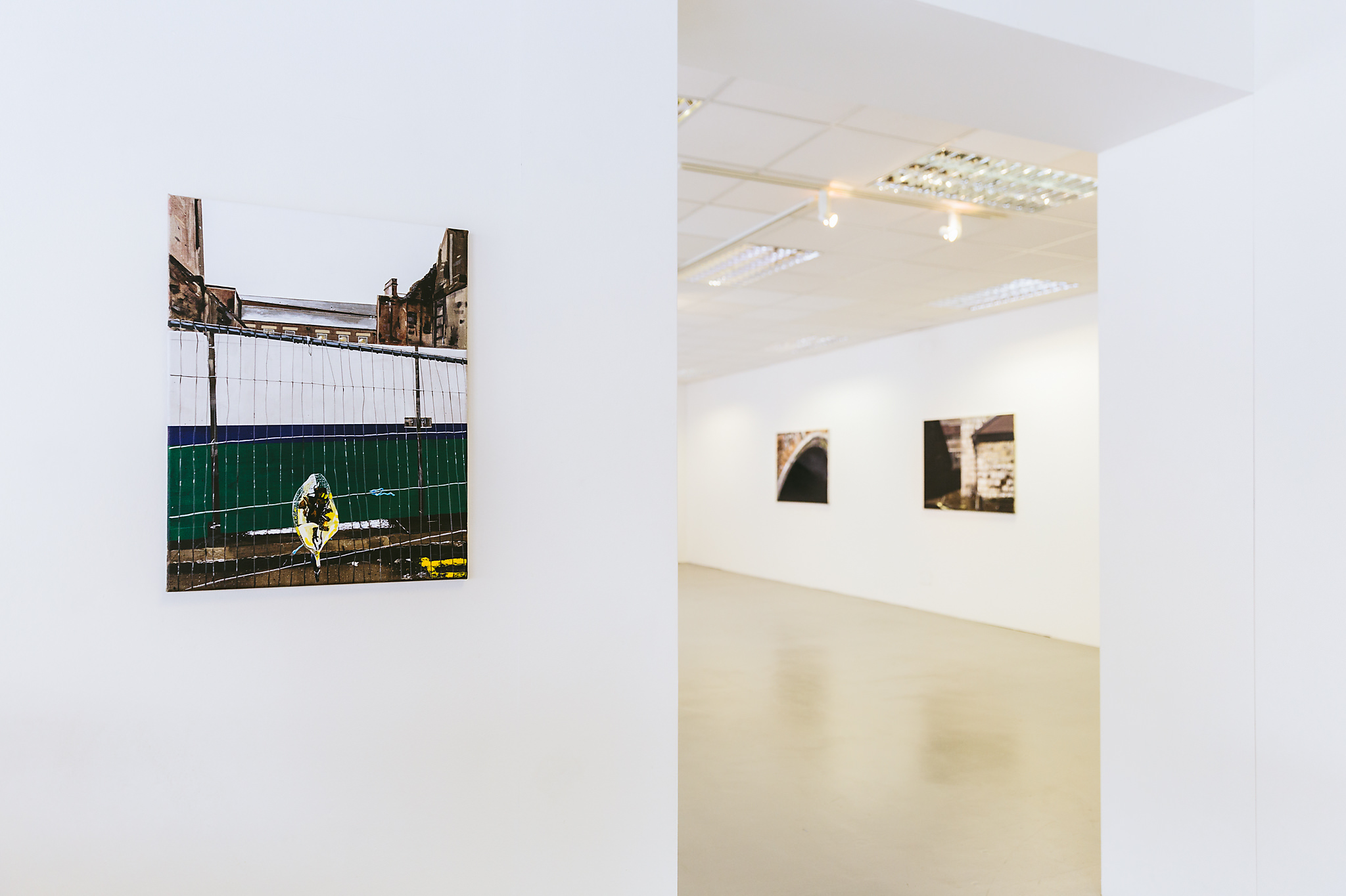 Installation shot, 'Narbi Price: This Must Be The Place', Vane Gallery, Newcastle, 2017