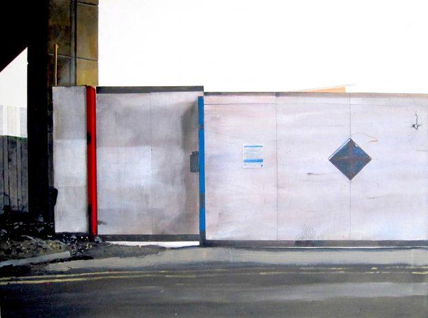 'Untitled Yard Painting (Albert)' Narbi Price Acrylic on Canvas, 91cm x 122cm
