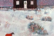 Christmas At The Red Hut Cards by Anna Wilson-Patterson