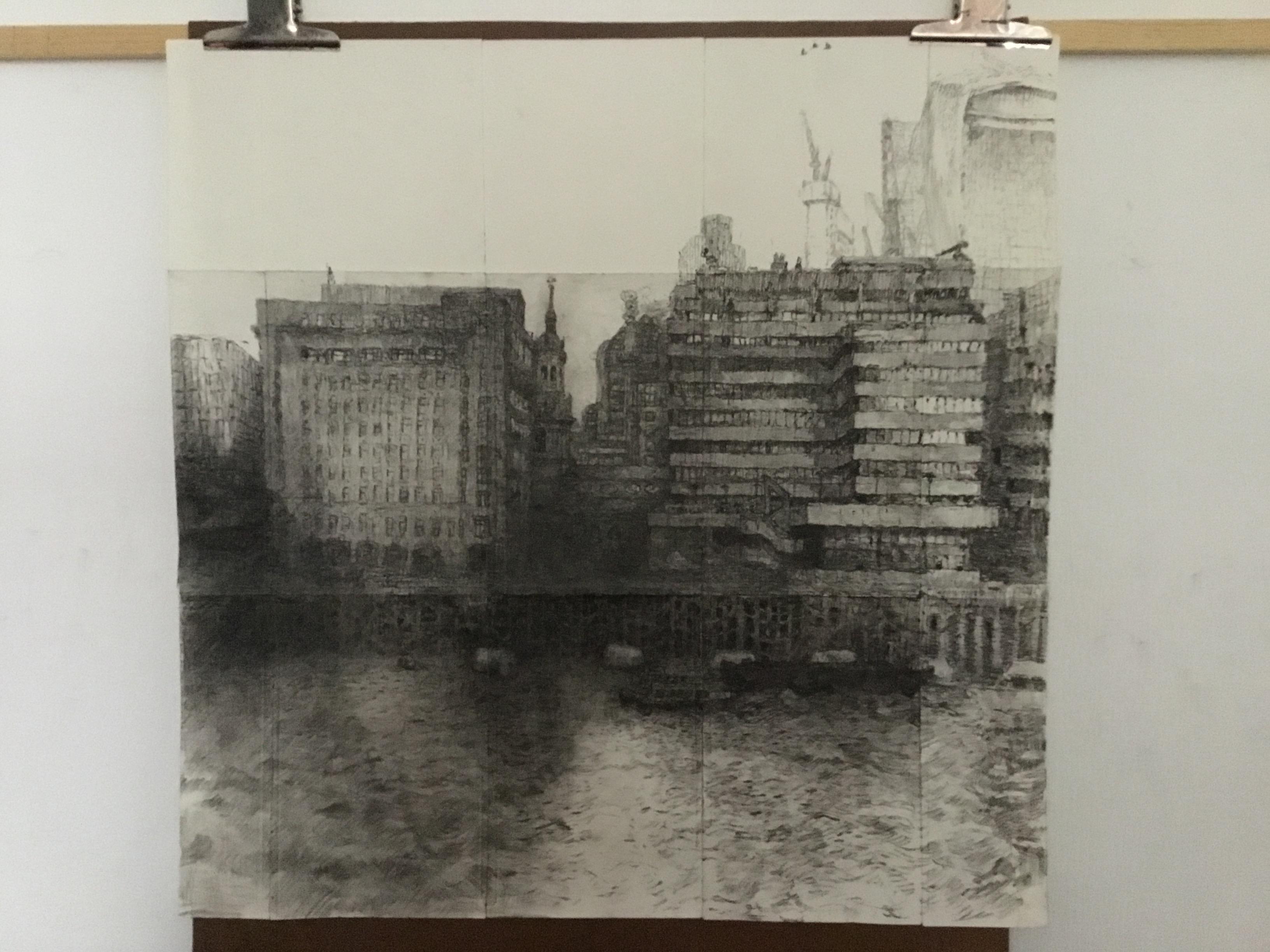 Work in Progress Christopher Green Pencil, 2017