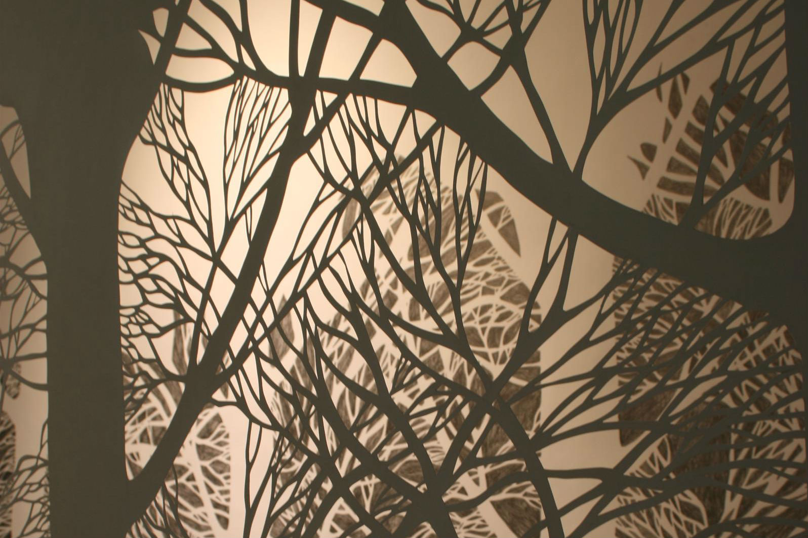 Paper Cutting by Brígh Strawbridge-O'Hagan, who is running a workshop at Crescent Arts Centre, Belfast between 24th - 25th March.