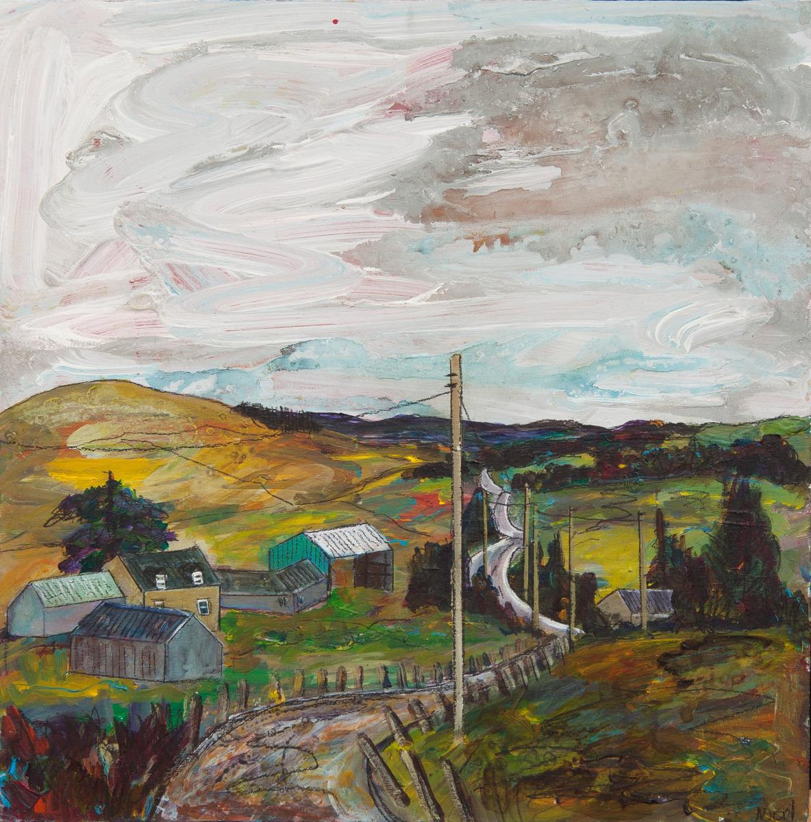 Ruth Nicol, 'Candy Mill from Brownsbank'