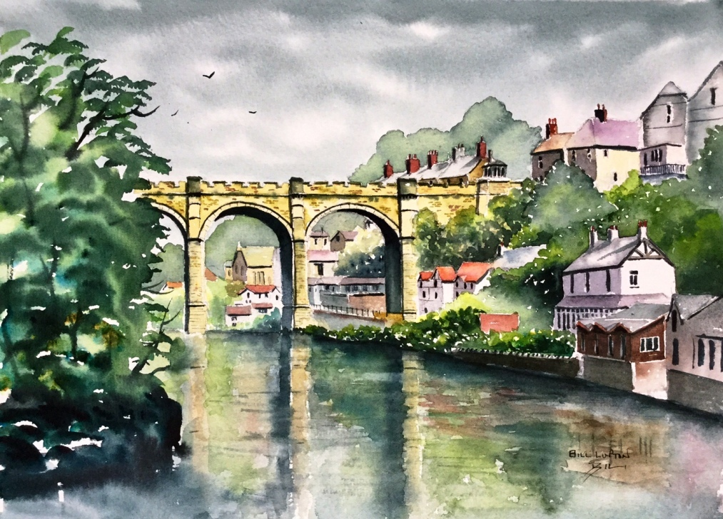Bill Lupton, Knaresborough Viaduct, 15 x 11 Inches