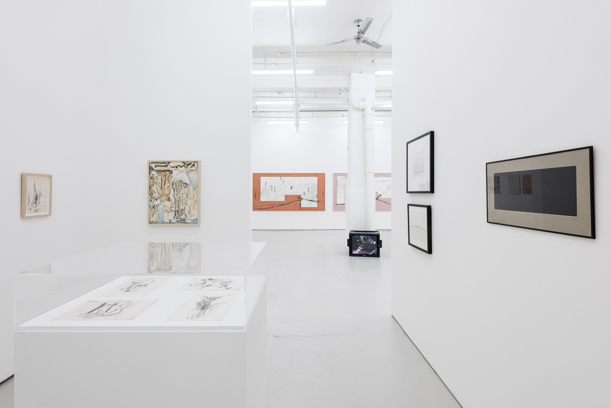 Installation view, Everything we do is music, Drawing Room 2017 Image courtesy Drawing Room Photographer: Damian Griffiths