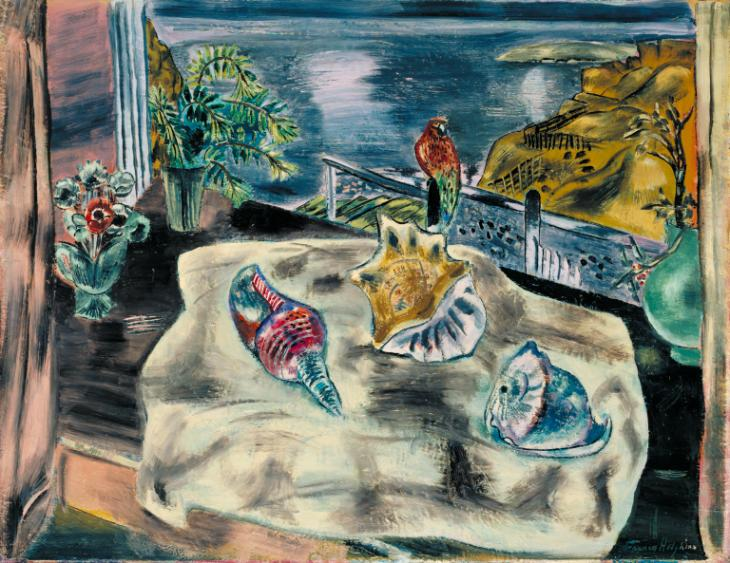 Wings over Water 1930 Frances Hodgkins 1869-1947 Presented by Geoffrey, Peter and Richard Gorer in memory of R?e Alice Gorer 1954 http://www.tate.org.uk/art/work/N06237
