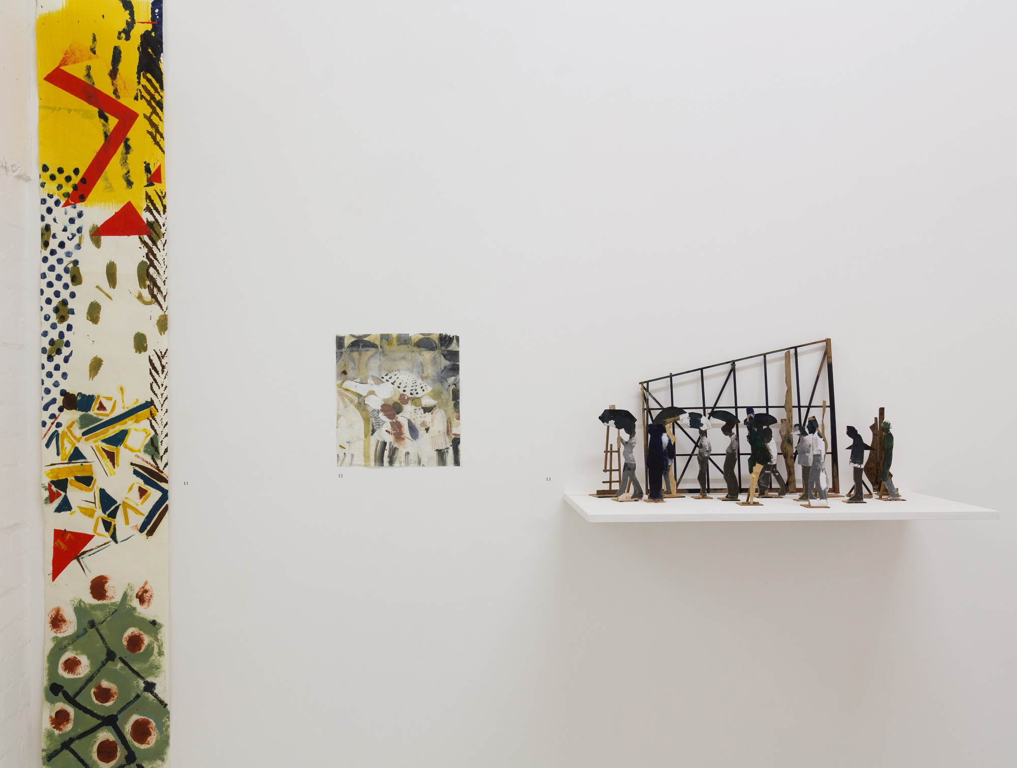Installation view, Nick Goss, Figure It Out, Tannery Projects, 2017 Photographer: Benjamin Deakin