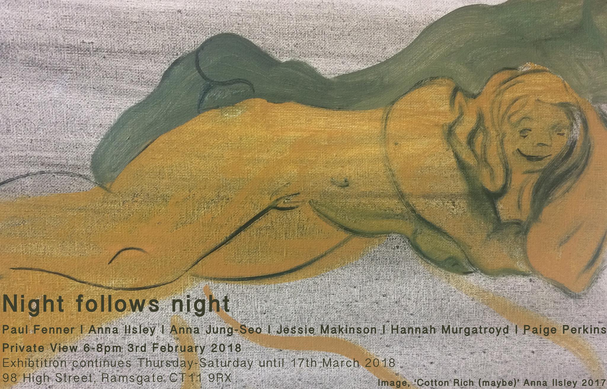 Night follows night press release