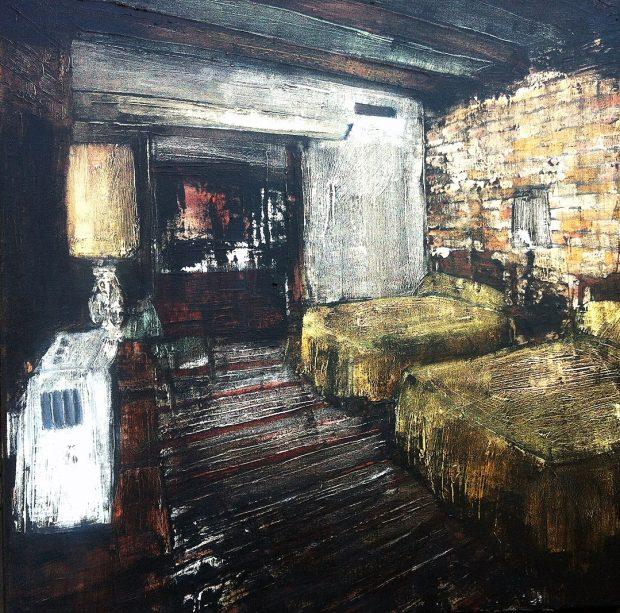 'Phenomena (22)' Jarik Jongman Oil on Canvas, 50cm x 50cm, 2016