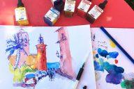 Schmincke Aero Color Professional Inks With Tine Klein