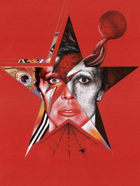 FRANCESCO-JACOBELLO-David-Bowie-by, showing at FLUX art exhibition