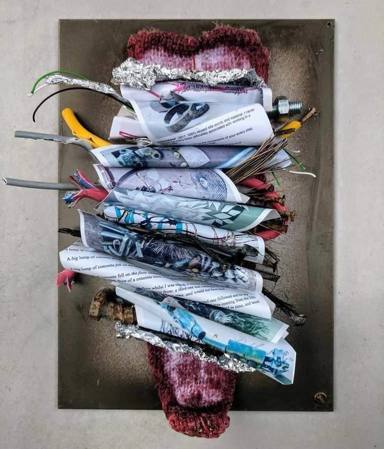 Francesca Busca, <br> <em>Crit Me (Small), </em>, showing at FLUX art exhibition