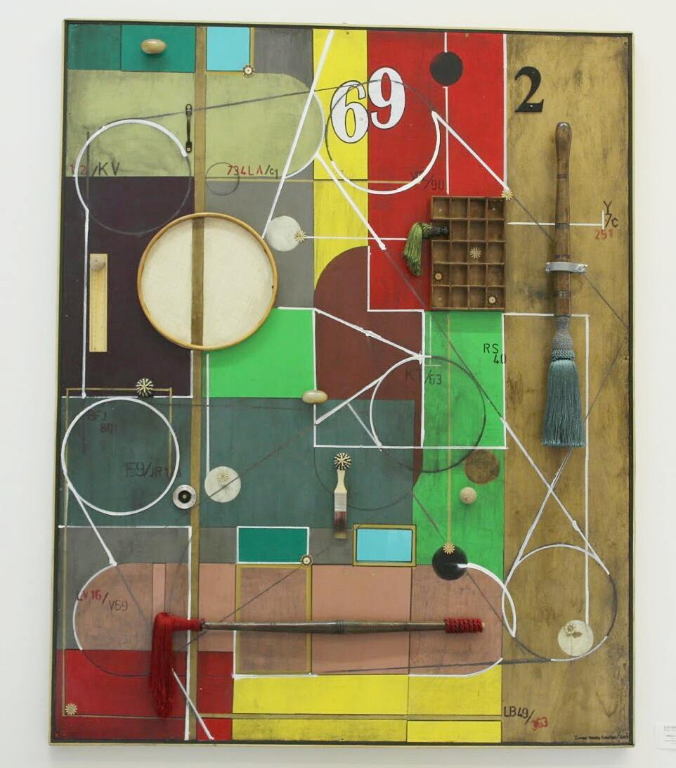 PEDRO SOUSA LOURO 'Without Doubts' 2017 Mixed Media on Wood, showing at FLUX art exhibition