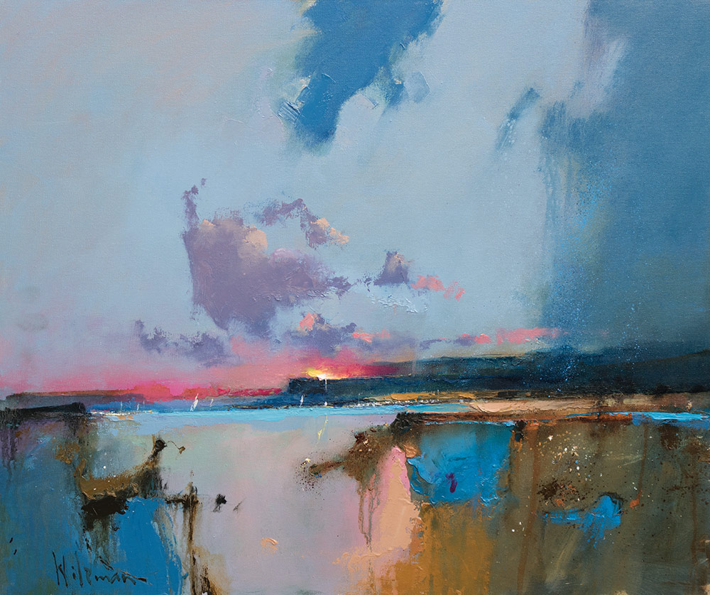 Peter Wileman, A Favourable Breeze, 50x60cm, Oil on Canvas