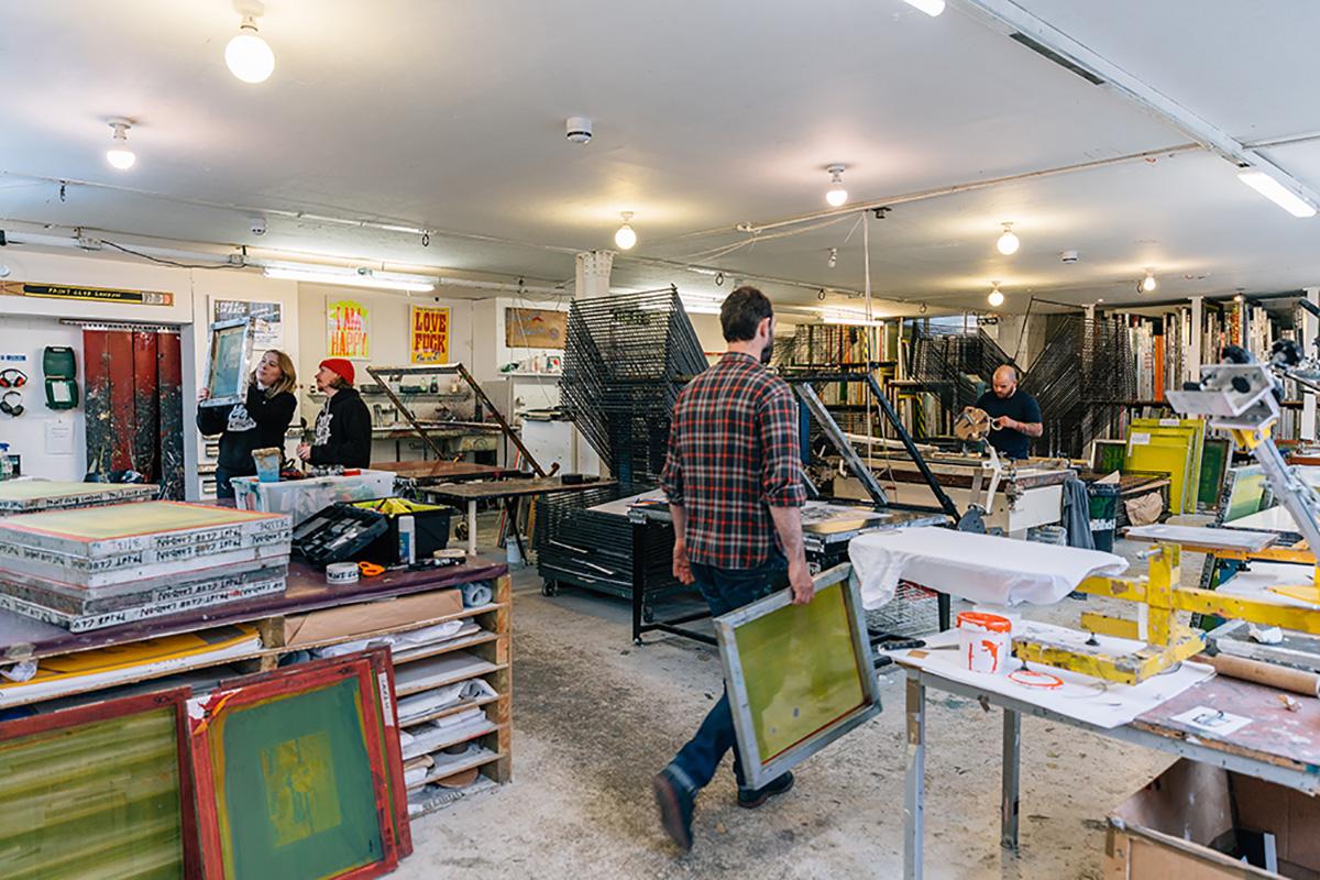 Print Club London - Studio Shot