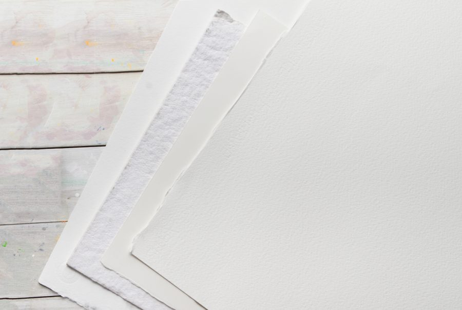 Cutting Imperial Sized Watercolour Paper Sheets Made Easy