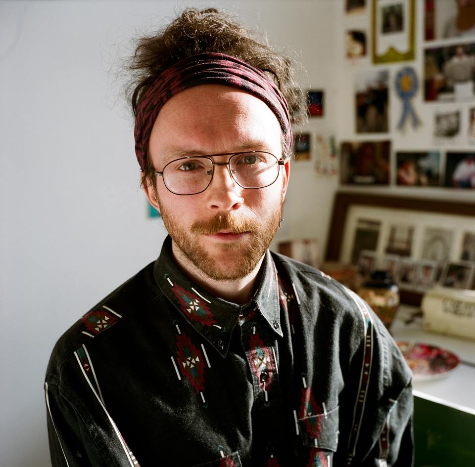 Thom in his studio, Photograph by Tim Willcocks
