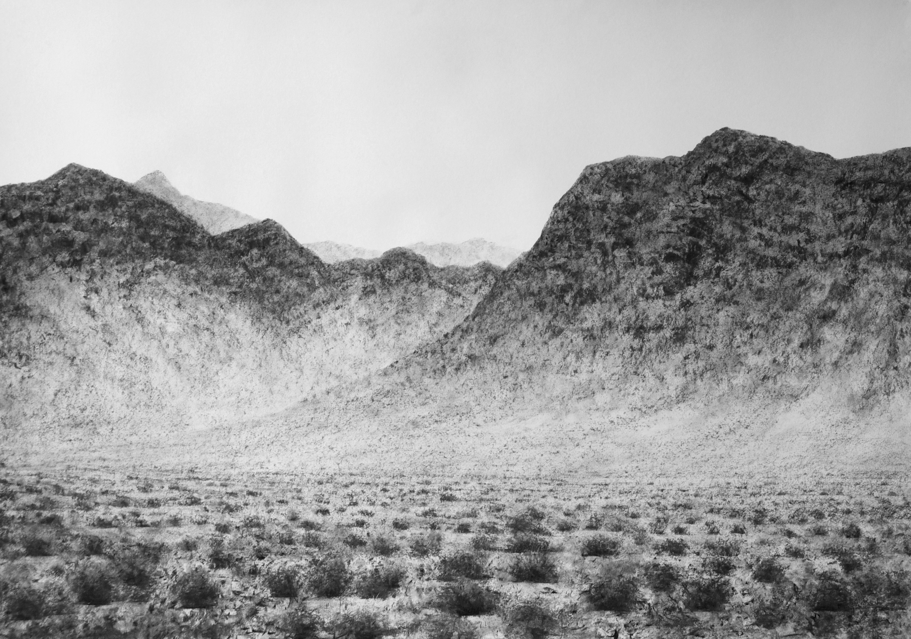 Darvish Fakhr, Desert 2, 100 x 150cm, exhibitions end April