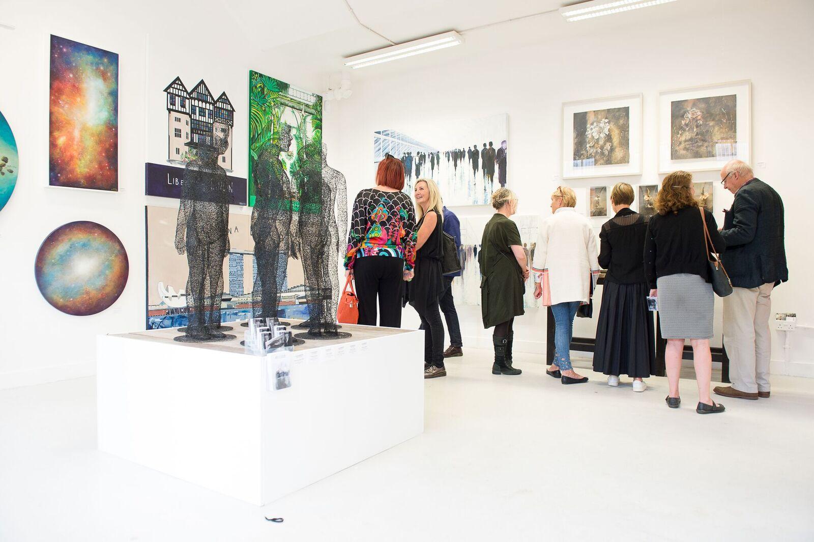 FLUX art exhibition view 2017