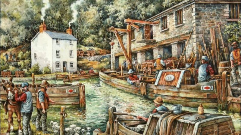 Michael Blackmore, Llanfoist Wharf, exhibitions in April