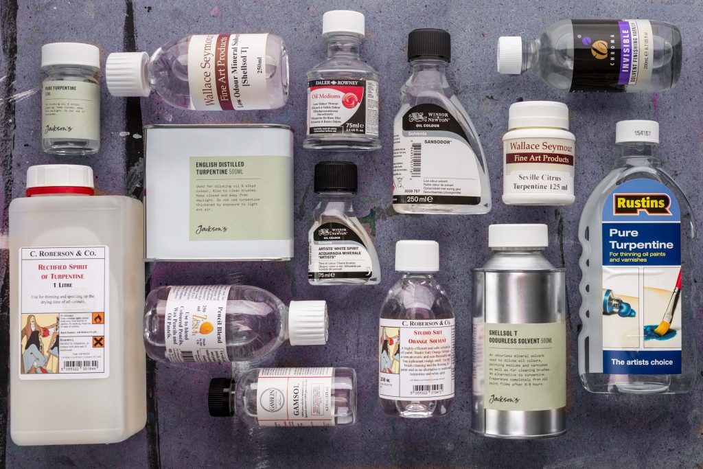 Oil Painting Solvents What Is The Difference Between White Spirit