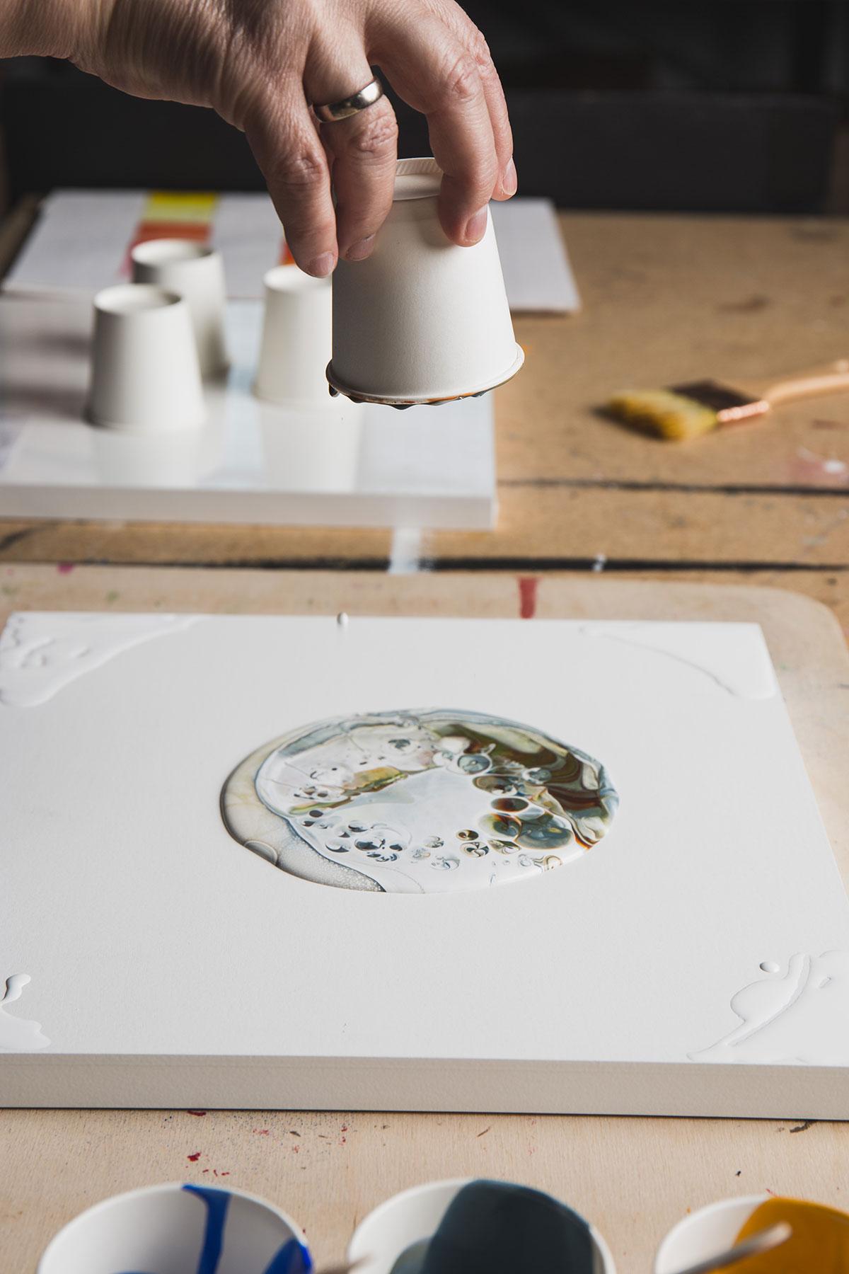 Don T Be A Square Preparing Circular Painting Panels