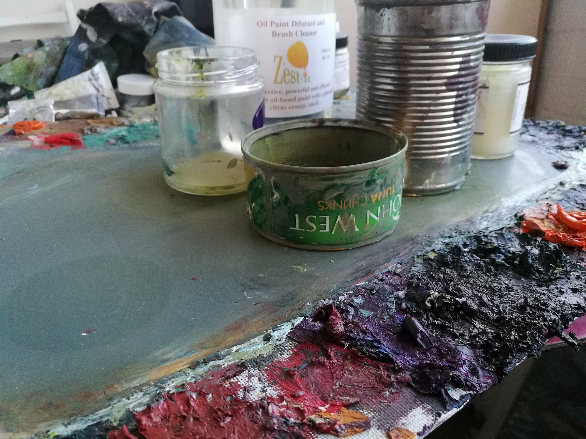 5 Steps To Safer Oil Painting Jackson S Art Blog