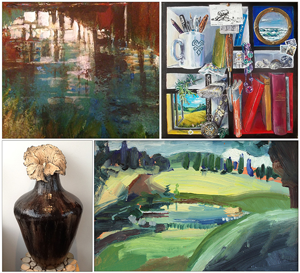 Collection of pieces from Willis Museum Studios exhibitions at the end of May