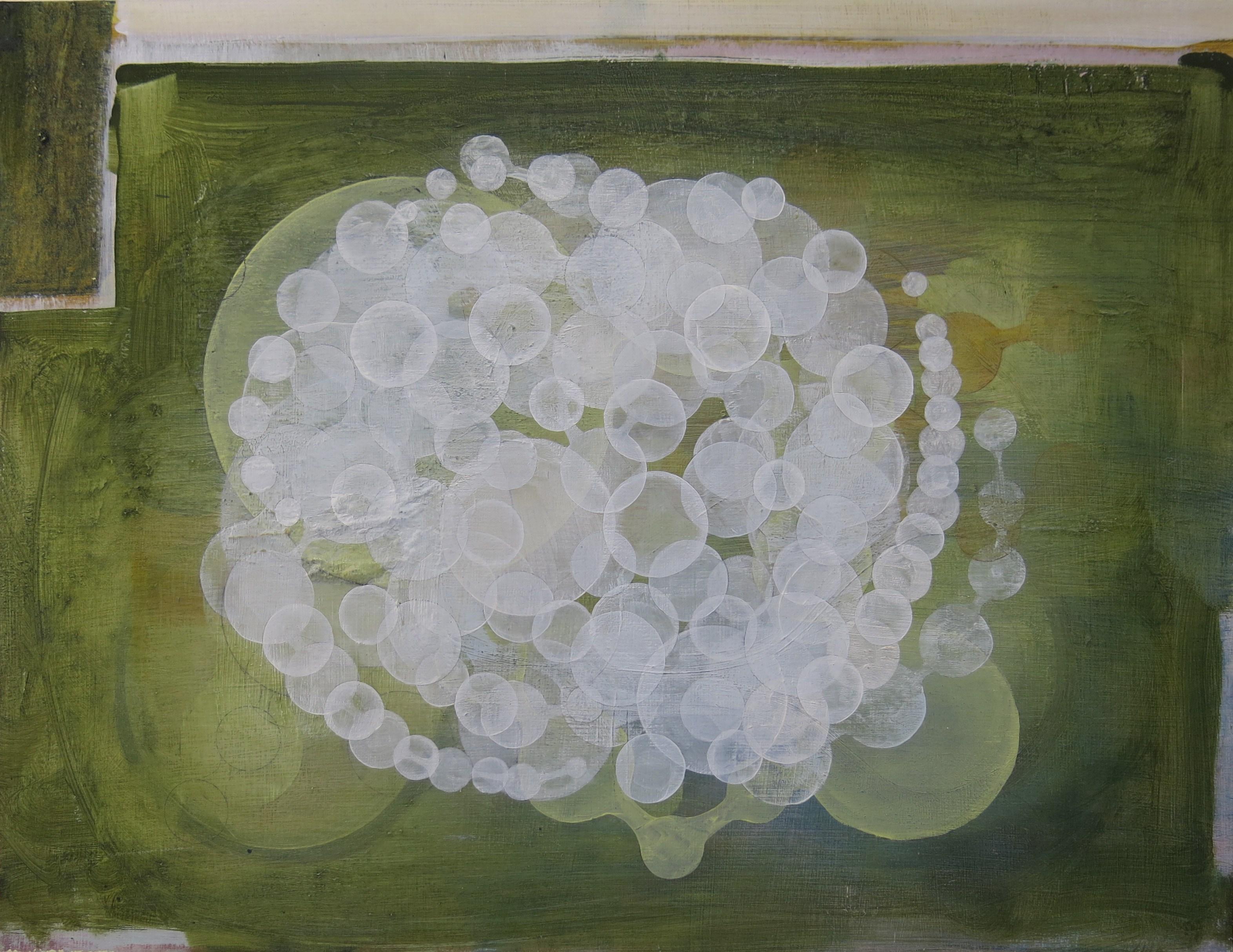 Dan Roach, PAr-2017 Outlayer, 2017. Oil on panel, 32 x 41.5cm